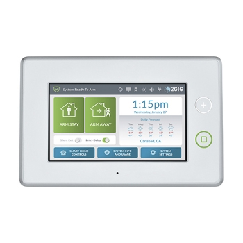 "2GIG 7"" Touchscreen Security & Control Panel"
