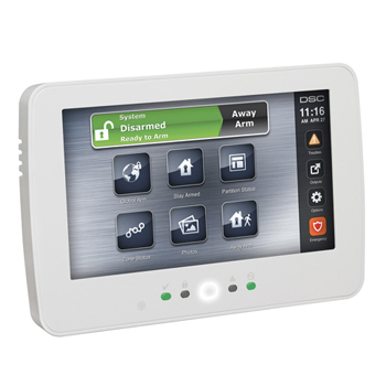 DSC Neo Touchscreen Keypad